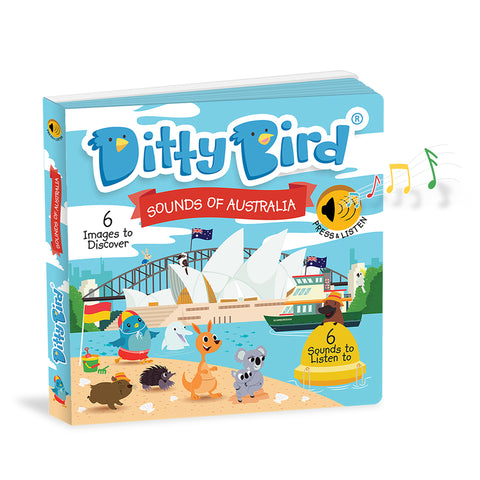 Ditty Bird - Sounds of Australia Board Book