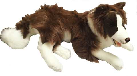 Nana's Weighted Toys - Fudge the 3.6 kg Brown Collie
