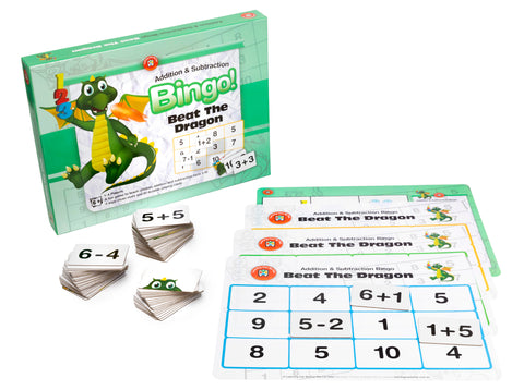 Ed Vantage  - Beat The Dragon Addition and Subtraction Bingo