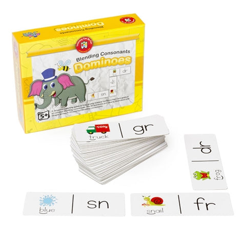Ed-Vantage - Blending Consonants Dominoes