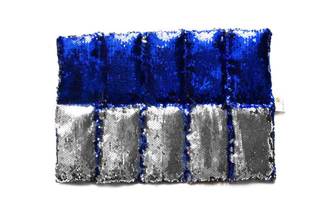 Sensory Matters Weighted Lap Blanket Sequinned Lapis Lazuli 1.5kg