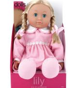 Dolls World by Peterkin - Lily 41cm Soft Fabric Doll