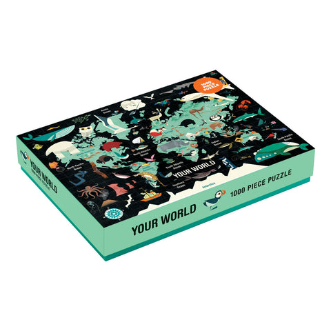 Mud Puppy 1000 pce  Puzzle Your World