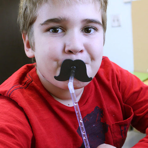 Ark Therapeutic - Mustache Straw Topper