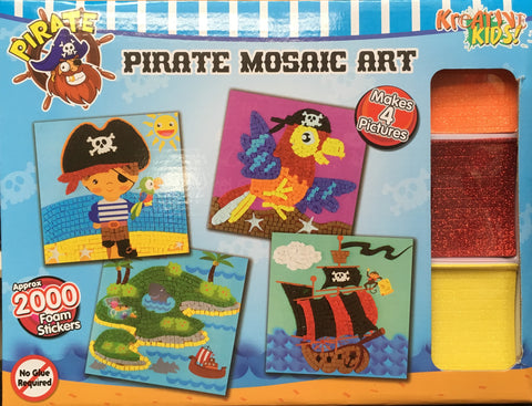 Craft Kit - Pirate Mosaics