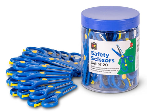 Ed Vantage Safety Scissors - Tub of 20 pieces
