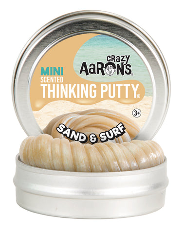 "Crazy Aarons Scented Thinking Putty - Sand & Surf 2"" Tin"