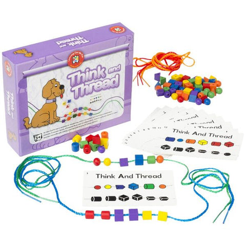 Learning Can Be Fun - Think and Thread Bead Kit