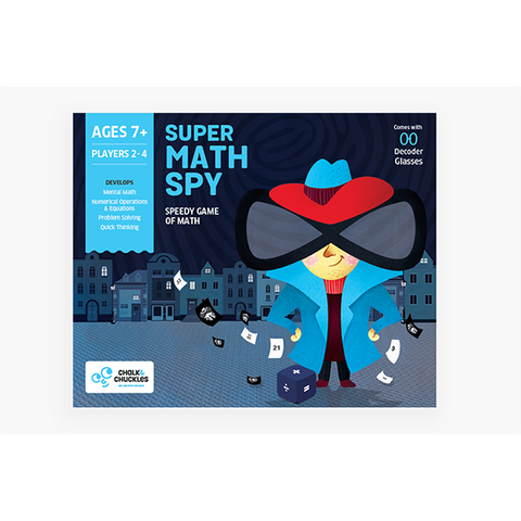 Chalk and Chuckles - Super Maths Spy - Maths game
