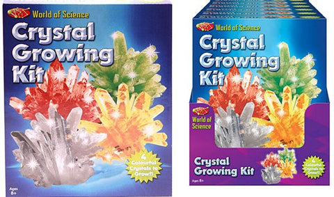 Crystal Growing Set - 4 crystals per box