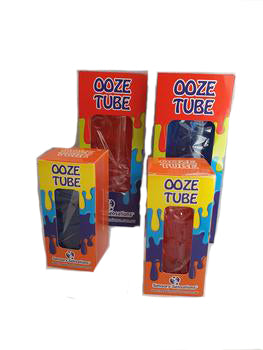 Sensory Sensations - Red & Blue Ooze Tube Bundle x 4 pieces