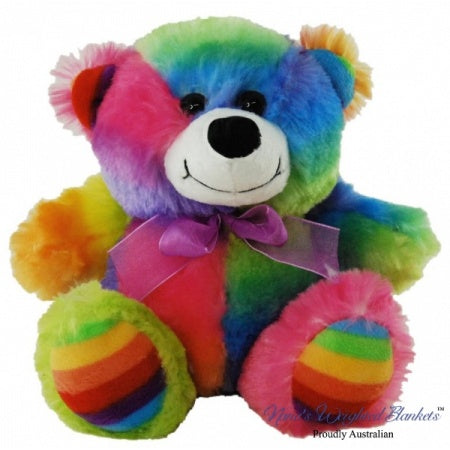 Nana's Weighted Toys - Rainbow the 2.5kg Bear