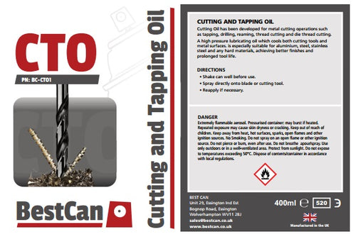 12 x Cutting & Tapping Oil  400ml