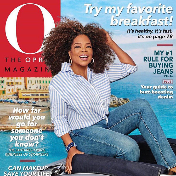 O, Baby! We're in Oprah Magazine!