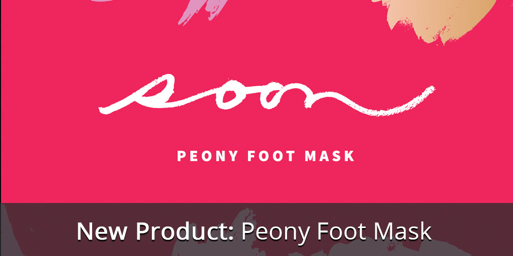 Item of the Week: Peony Foot Mask