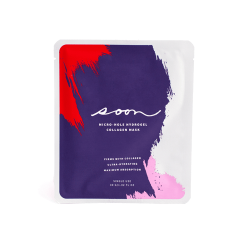 Micro-Hole Hydrogel Collagen Mask