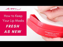 Strawberry Lip Masks with Collagen