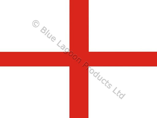 Magnetic St George Car Flag - 20cm x 21 cm