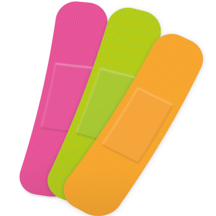 Neon Plasters - 75pc Set