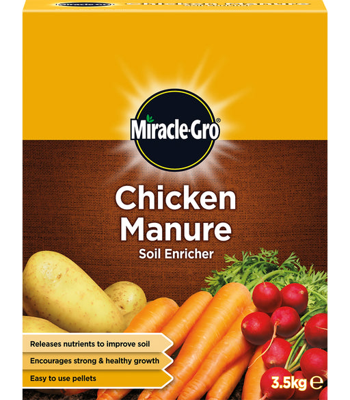 Miracle Gro Chicken Manure 3.5 kg carton