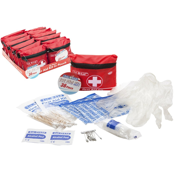 First Aid Kit - 38 Piece Kit