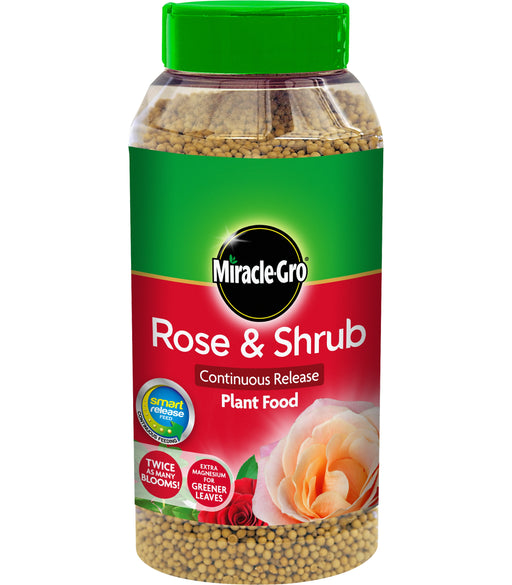 Miracle Gro Rose & Shrub Continuous Release Plant Food 1 kg shaker jar