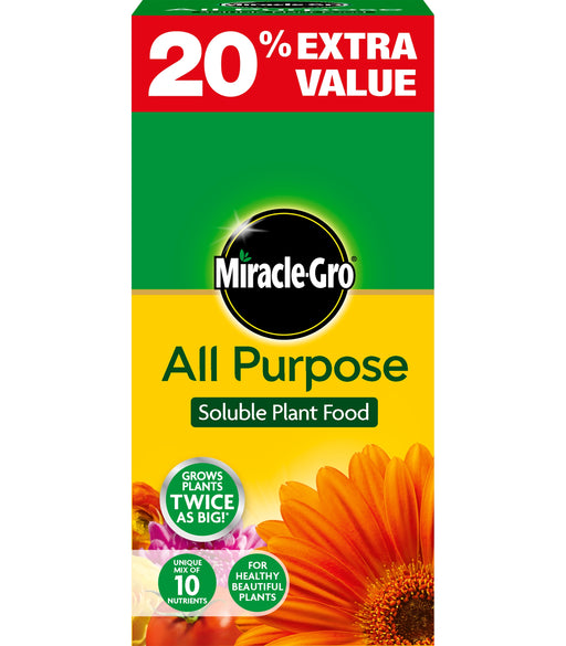 Miracle Gro All Purpose Soluble Plant Food 1.2 kg carton