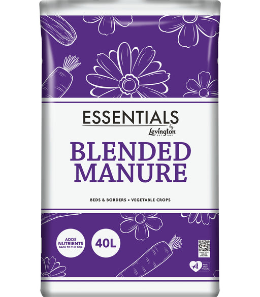 Levington Essentials Blended Manure 40 Litres