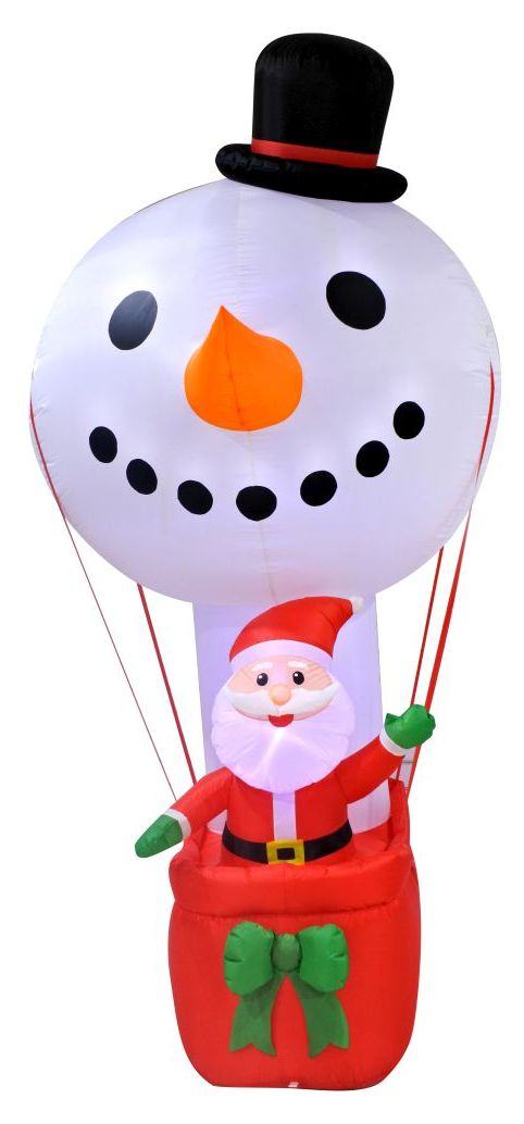 Santa Hot Air Balloon - 270cm