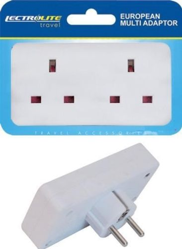 European Travel Adaptor - 2 Way