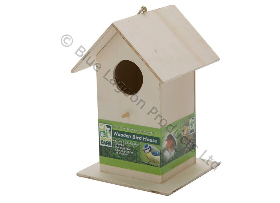 Large Wooden Bird House