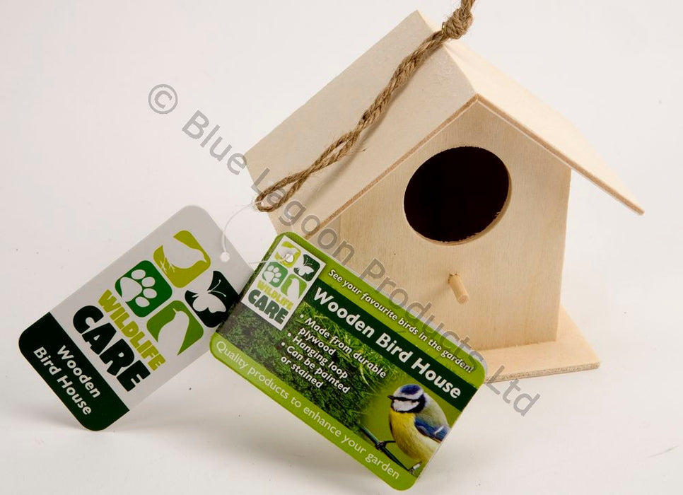 Small Wooden Bird House