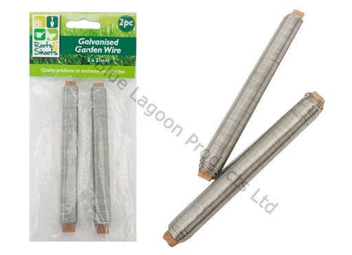 Galvanised Garden Wire - 2pc