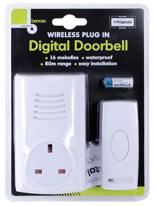 Wireless Doorbell Socket