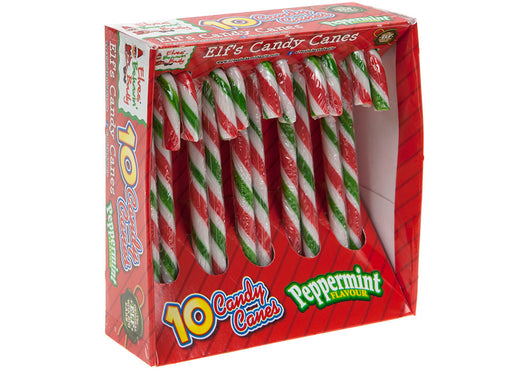 Peppermint Candy Canes - 10pc