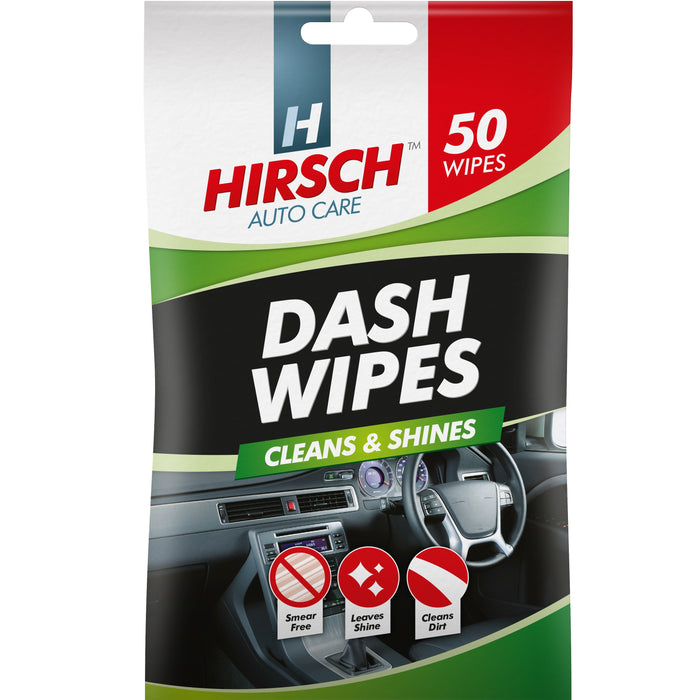 Car Dashboard Wipes - 50pc