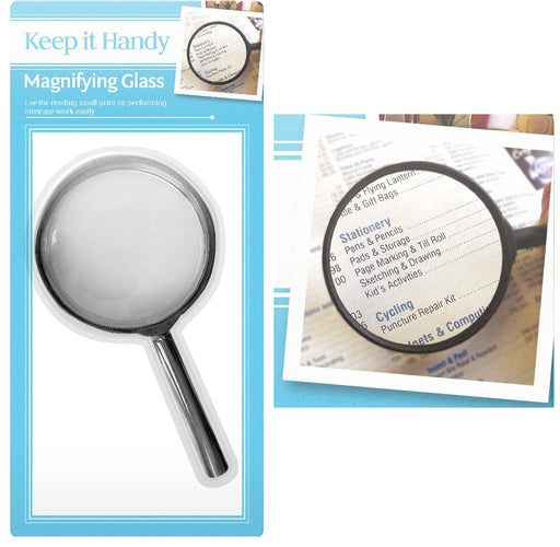 DISC Magnifying Glass - 8cm