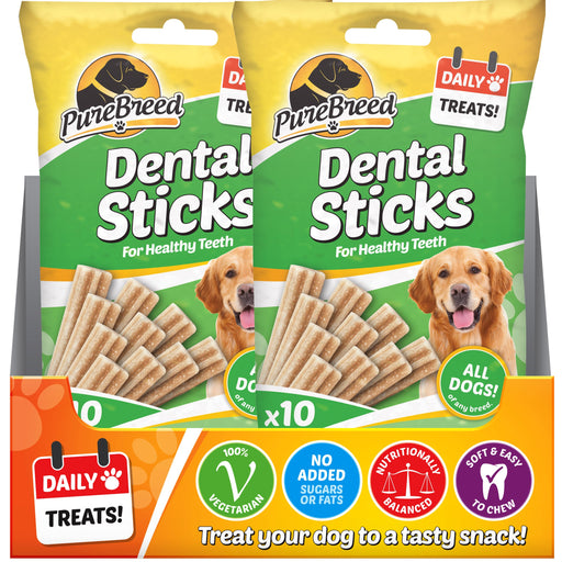 Dog Dental Sticks - 10pc