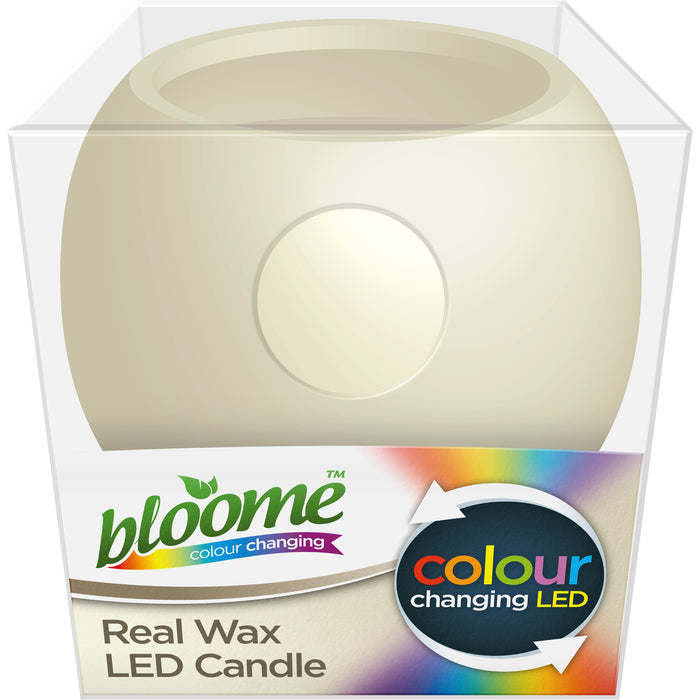 DISC Real Wax LED Candle - Colour Changing