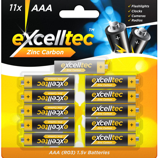 AAA Batteries - 11pc