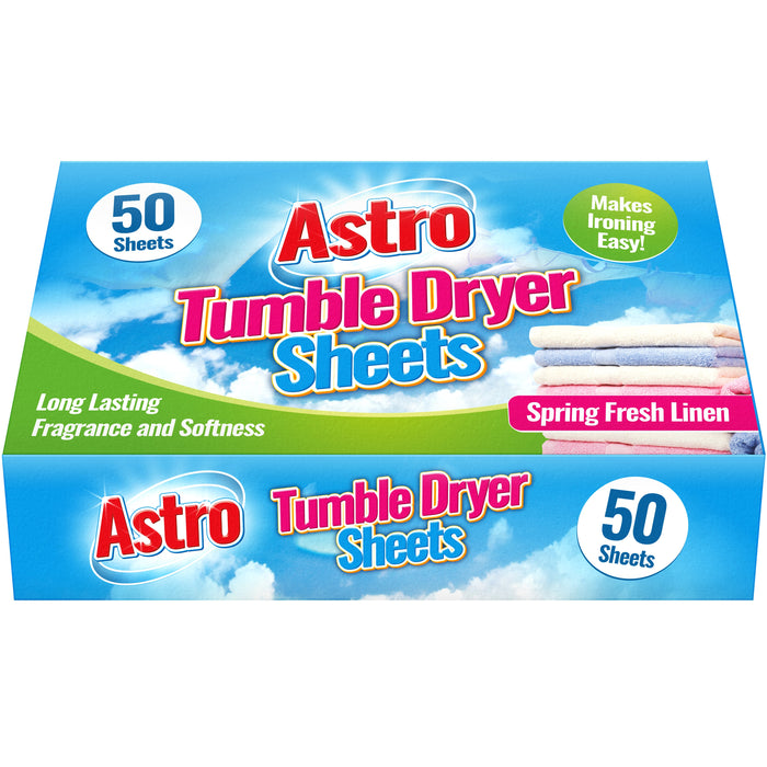 Tumble Dryer Sheets - 50pc