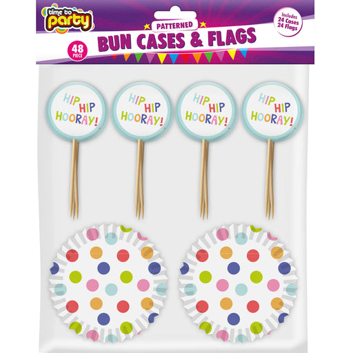DISC Cupcake Decoration Set - 48pc
