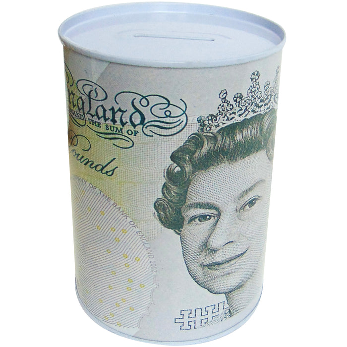 Fiver Money Tin - 6""