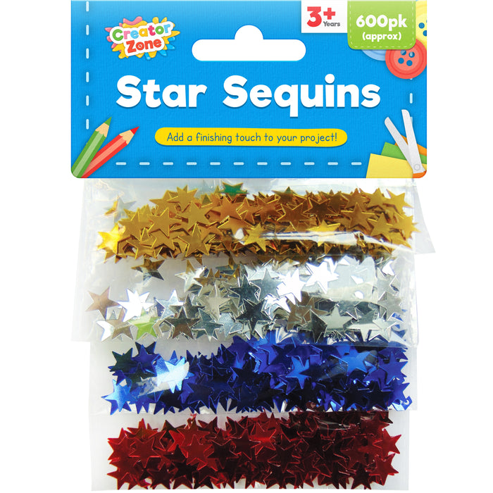 Star Sequins - 600pc