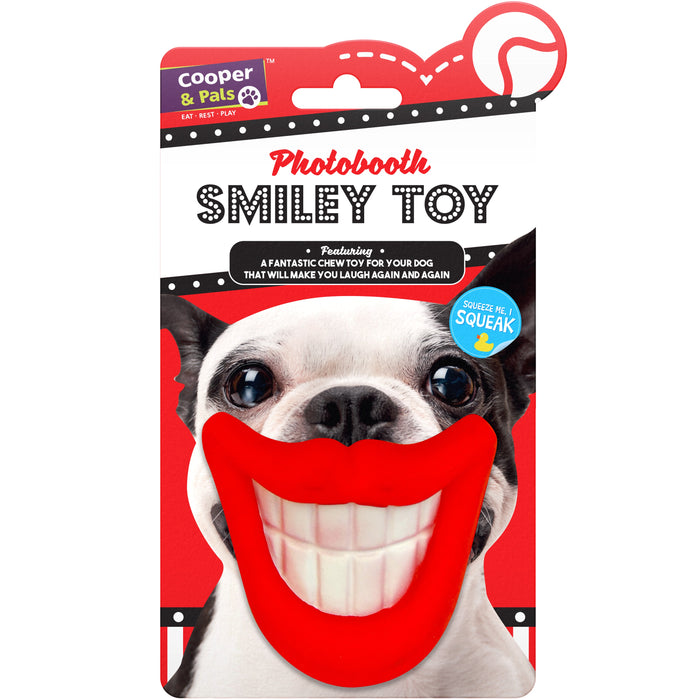 Rubber Dog Toy - Squeker