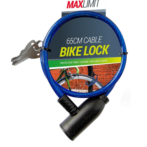 Bike Lock - 2 Keys Included