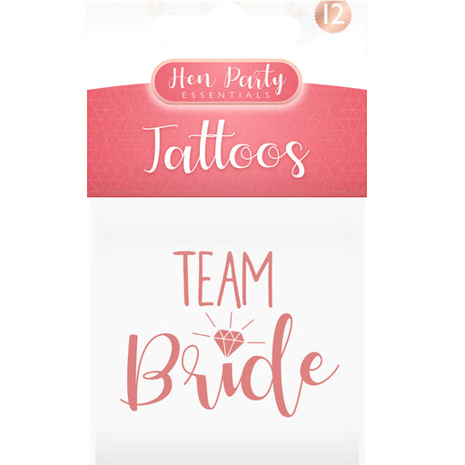 Team Bride Tattoos - 12pc