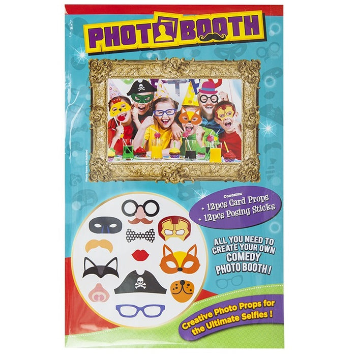 DISC Kids Photobooth Accessories Pack - 12pc