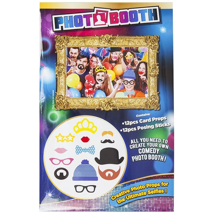 Adults Photobooth Accessories - 12pc