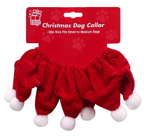 Santa Dog Collar - Small/Medium